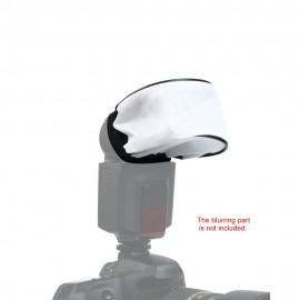 Olympus GeneralBrand Quality Universal White Cloth Bounce Diffuser for Canon Sony Metz Flashgun Nissin Nikon Sigma
